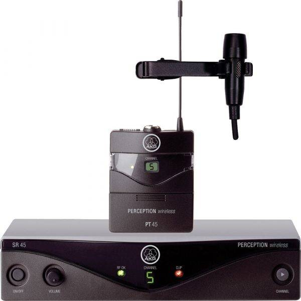 AKG Perception 45 Wireless Microphone Presenter Set Band-A (530 – 560MHz)