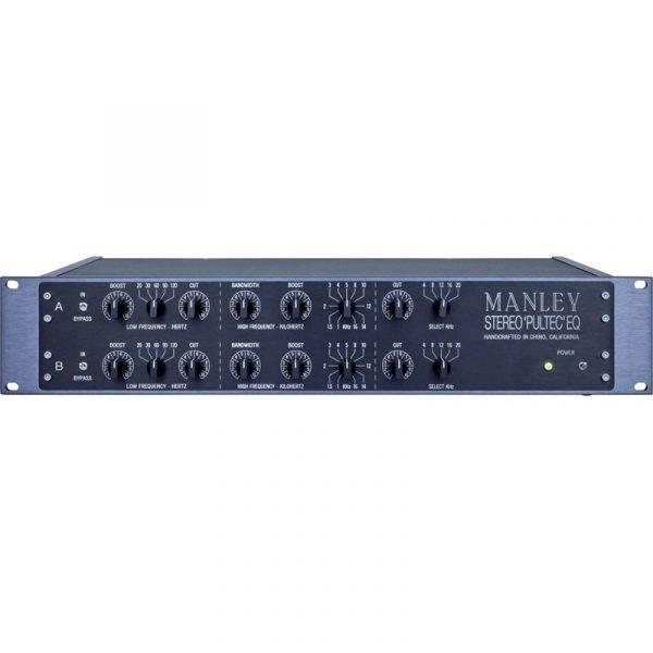 "Manley EQP-1A Enhanced ""Pultec"" Stereo Equalizer"