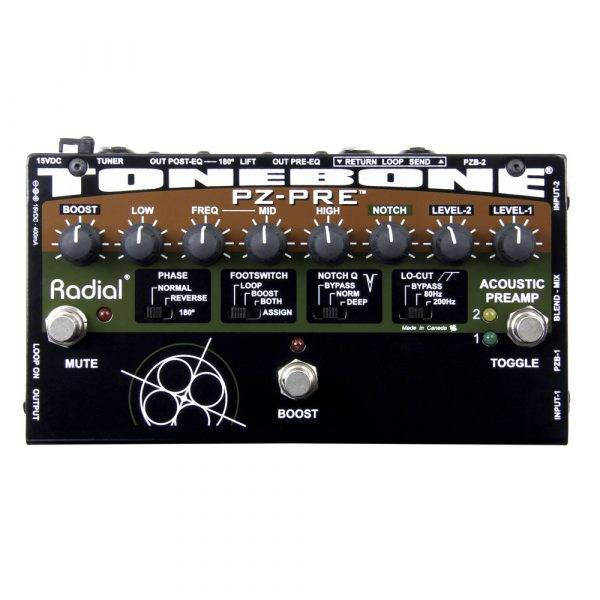 Radial Engineering Tonebone PZ-PRE Acoustic Instrument Preamp Used