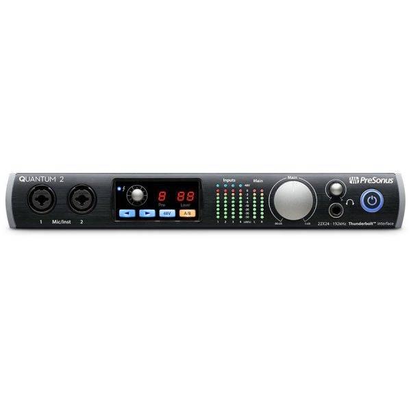 Presonus Quantum 2 22x24 Thunderbolt Audio Interface  Refurbished