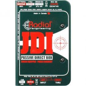 Radial Engineering JDI Passive DI for Acoustic Guitar, Bass & Keyboard