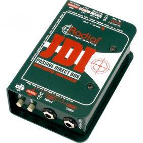 Radial Engineering JDI Passive DI for Acoustic Guitar, Bass & Keyboard