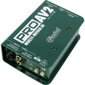 Radial Engineering ProAV2 Audio/Video Passive Stereo Direct Box