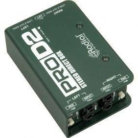Radial Engineering ProD2 Stereo Passive Direct Box