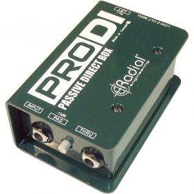 Radial Engineering ProDI Single Channel Passive Direct Box