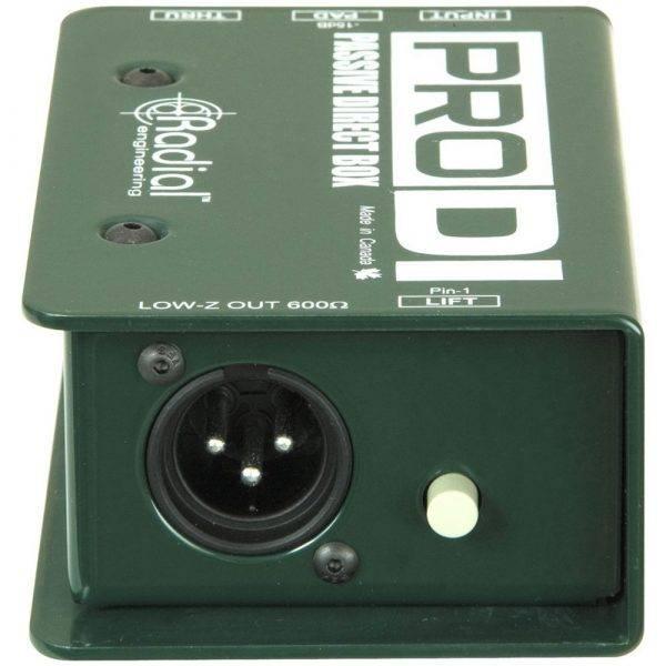 Radial Engineering ProDI Single Channel Passive Direct Box