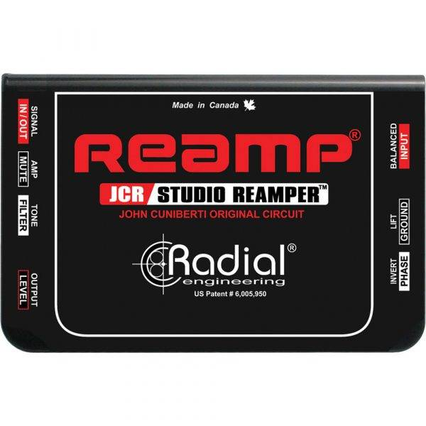 Radial Engineering Reamp JCR Studio Reamper