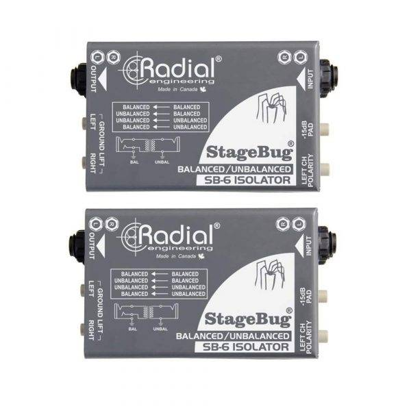 Radial Engineering StageBug SB-6 Isolator Pair (2)