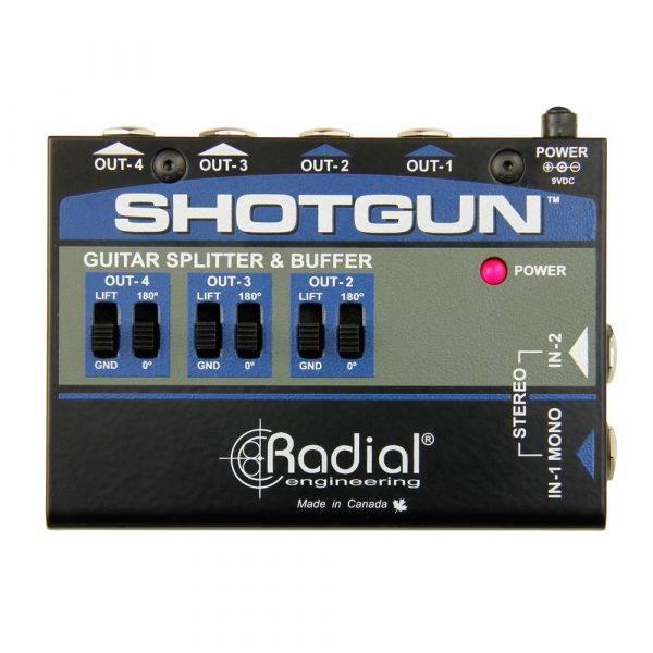 Radial Engineering Shotgun 4-channel Guitar Amp Driver