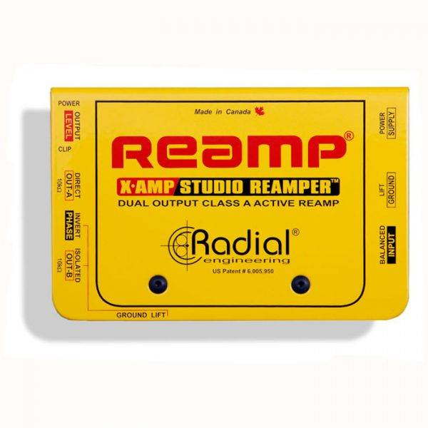 Radial Engineering X-Amp Active Re-Amplifying Device