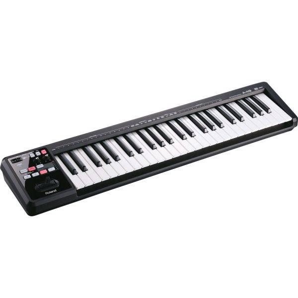 Roland A-49 49-key MIDI Keyboard Controller Black