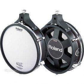 "Roland PD-125BK 12"" V-Pad Dual-Trigger V-Series Electronic Drum Pad"