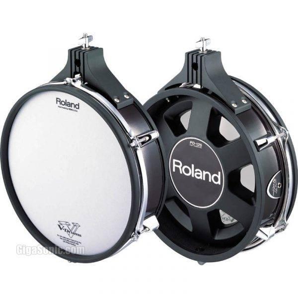 "Roland PD-125BK 12"" V-Pad Dual-Trigger V-Series Electronic Drum Pad"