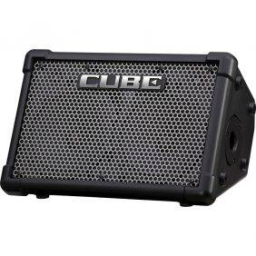 "Roland CUBE Street EX Battery Powered 50W 2x8"" Guitar Combo Amplifier"
