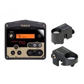 Roland TM2 Trigger Module with RT-30K-RT-30H Drum Triggers Bundle