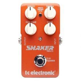 TC Electronic Shaker Vibrato Guitar Effects Pedal