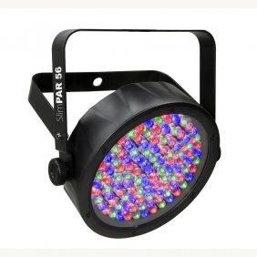 Chauvet SlimPAR 56 Par-style RGB LED Lighting Fixture 4-Pack