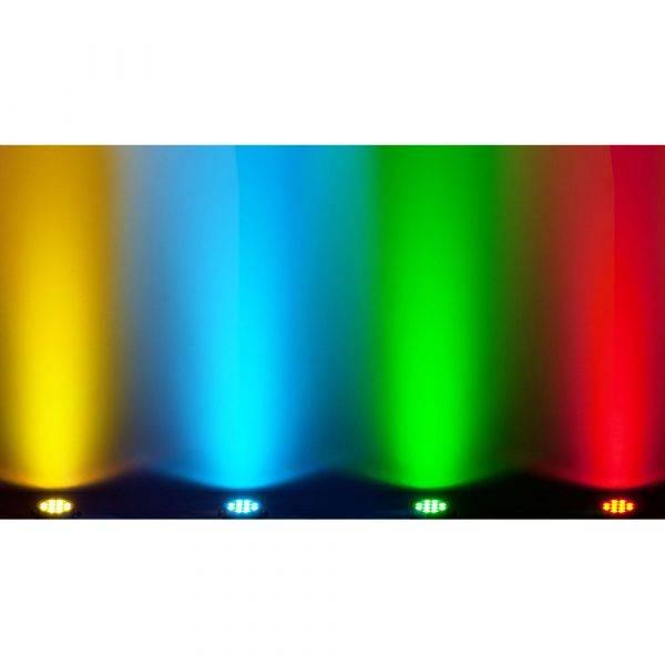 Chauvet SlimPAR Pro Q USB Wireless DMX RGBA LED Wash Light 8-Pack