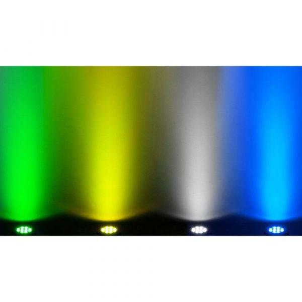 Chauvet SlimPAR Pro H USB Wireless DMX RGBAW+UV LED Wash Light White