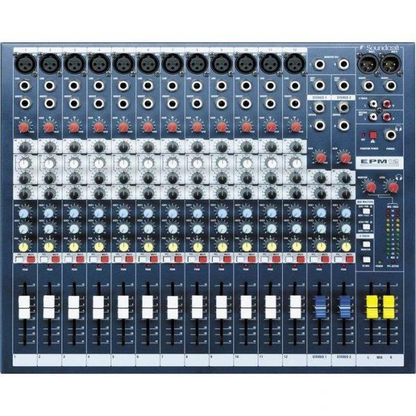 Soundcraft EPM12 12-Channel Multi-format Mixer