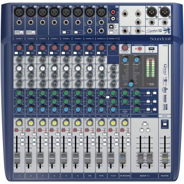 Soundcraft Signature 12 Mixer w/Effects