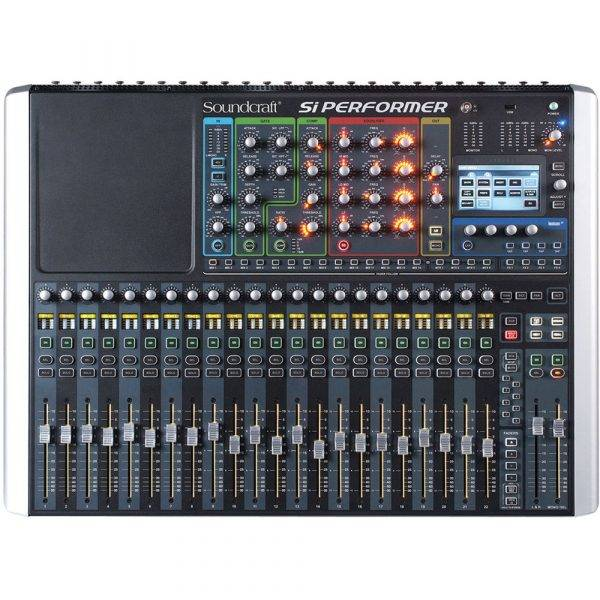 Soundcraft Si Performer 2 Digital Console with DMX Control