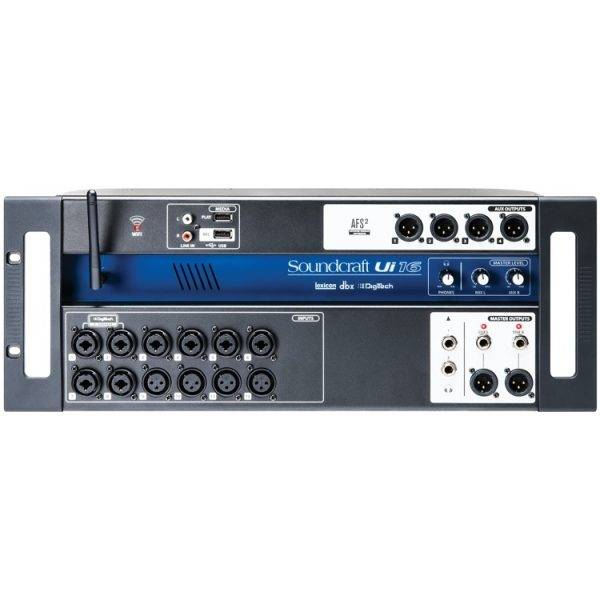 Soundcraft Ui16 16-input Remote-controlled Digital Mixer with Wi-Fi