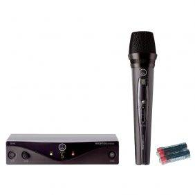 AKG Perception Wireless Vocal Set w/Universal Electronics AA Batteries