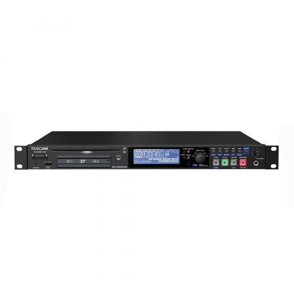 Tascam SS-CDR250N 2-Channel Networking CD and Media Recorder