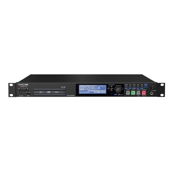 Tascam SS-R250N Memory Recorder w/Networking & Optional Dante Support
