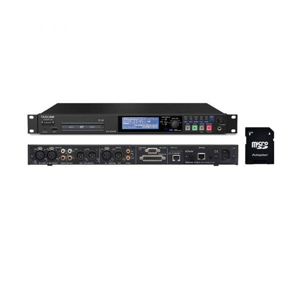 Tascam SS-R250N Memory Recorder with EV Music 32gb SD Card