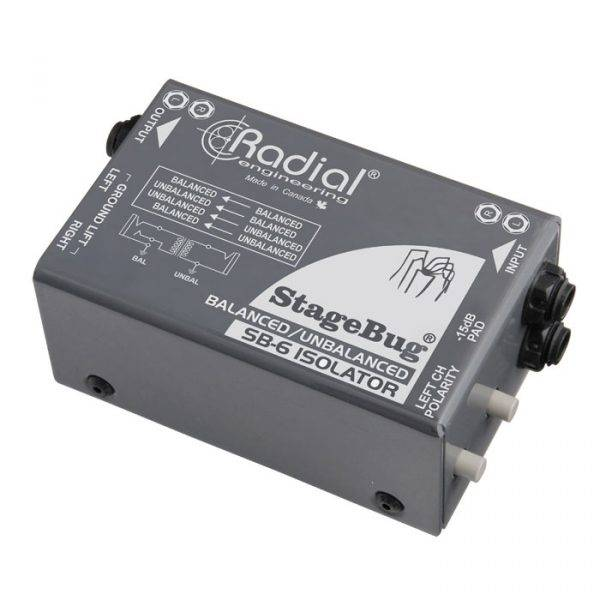 Radial Engineering StageBug SB-6 Isolator