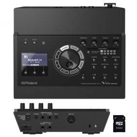 Roland  TD-17 Drum Sound Module with EV Music 32gb Card