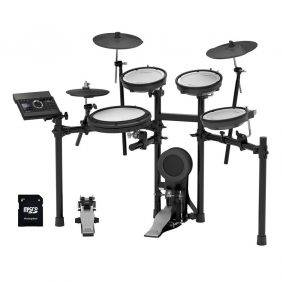 Roland  TD-17KV V-Drums Electronic Drum Set with EV Music 32gb Card