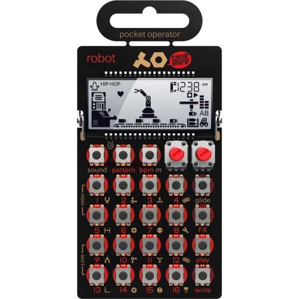 Teenage Engineering PO-28 Pocket Operator Robot Synthesizer