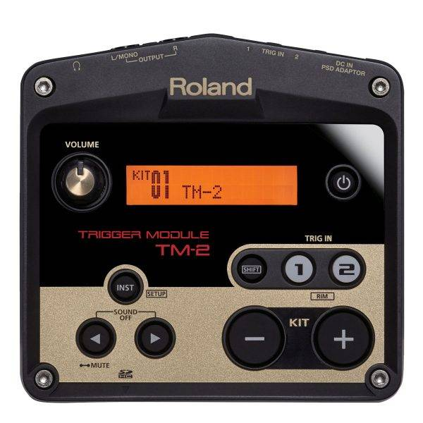 Roland TM-2 Trigger Module and Roland KT-10 Kick Trigger Pedal Bundle