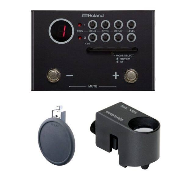 Roland TM-1 Trigger Module Bundle with PD-8 & RT-30K