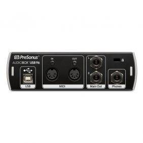 PreSonus AudioBox USB 96 2-channel 24-bit/96kHz USB2.0 Audio Interface