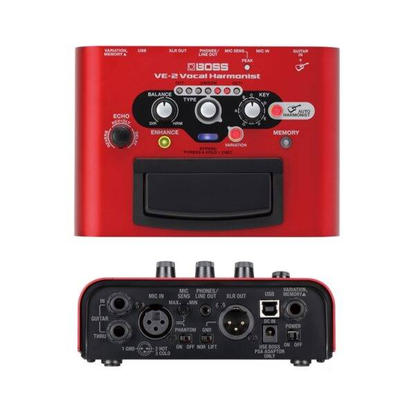 Boss VE-2 Vocal Harmonist Multi-Effects Pedal Refurbished