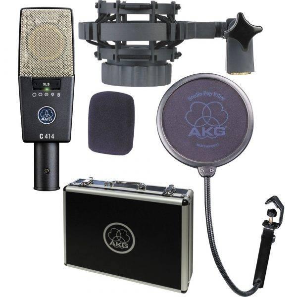 AKG C414 XLS 9-Pattern Condenser Microphone