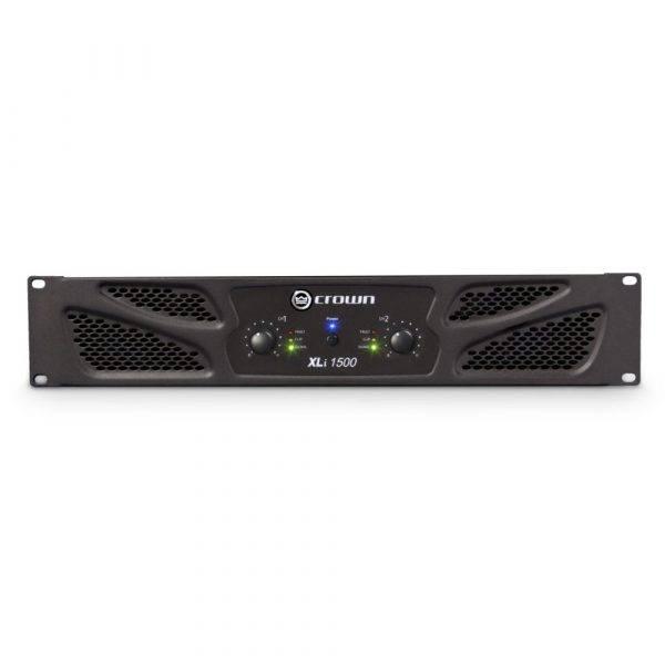 Crown XLi 1500 2-channel, 450W 4Ω Power Amplifier Used