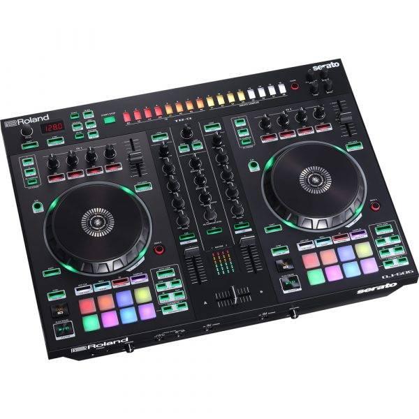 Roland DJ-505 2-channel, 4-deck DJ Controller for Serato