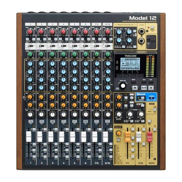 Tascam Model 12 12-channel Multitrack Recorder/10-ch Digital Mixer