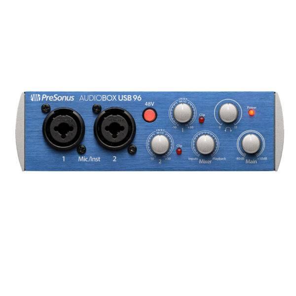 PreSonus AudioBox USB 96 2-channel USB 2.0 Audio Interface Used