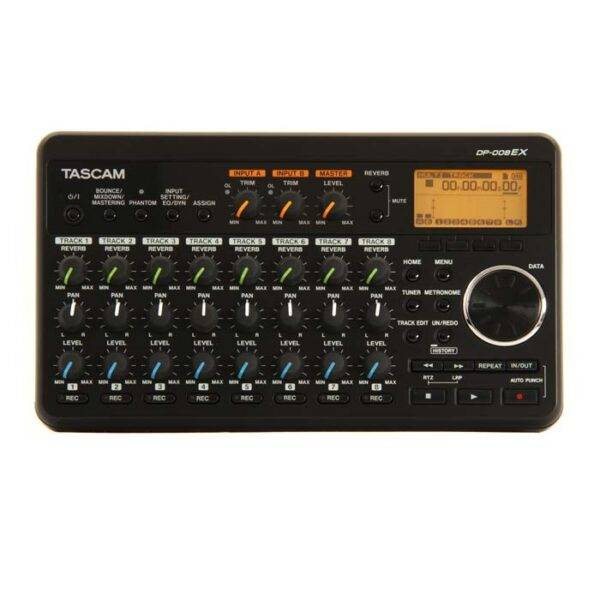 Tascam DP-008EX 8-track Digital Studio and SD Recorder
