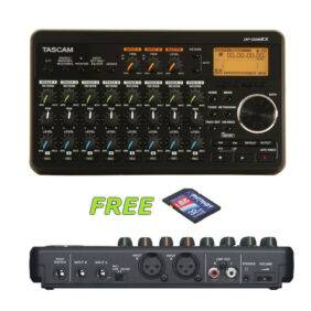 Tascam DP-008EX 8-Track Digital Recorder w/a Free 32GB Patriot SD Card