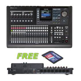 Tascam DP-32SD Digital Portastudio with a Free Patriot 32GB SD Card