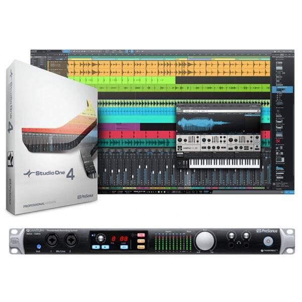 Presonus Quantum 26x32 Thunderbolt 2 Audio Interface with Studio One 4