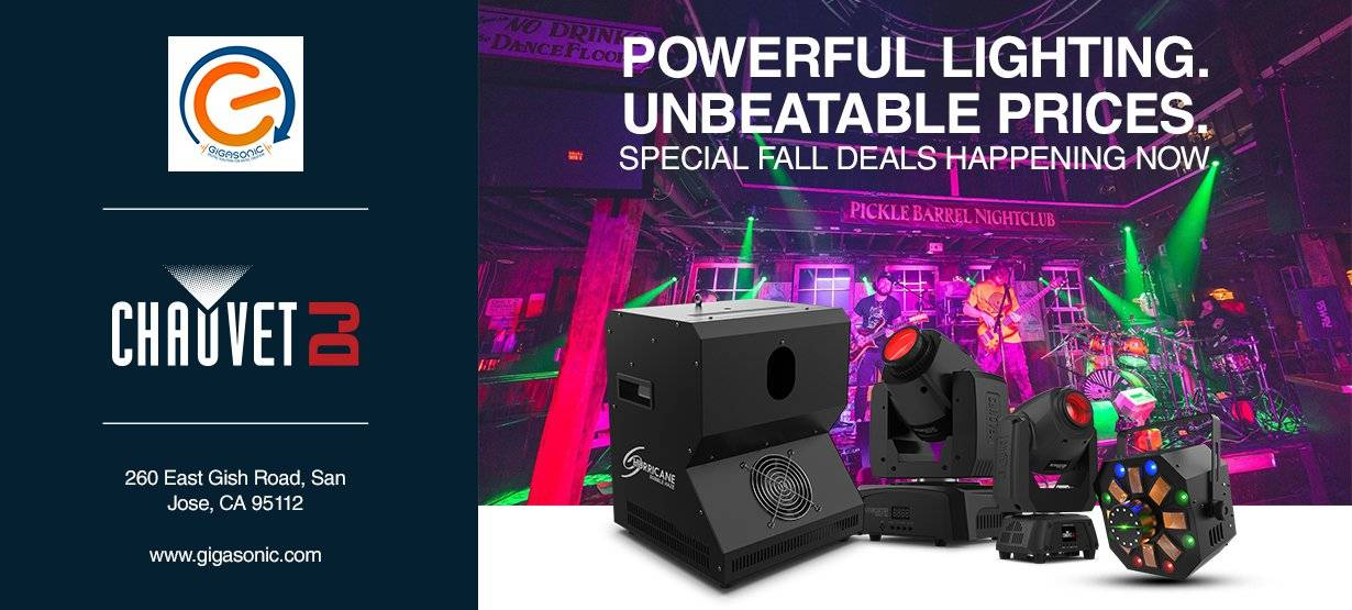 Chauvet Winter promo