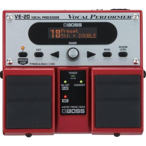 Boss VE-20 Vocal Processor Effects Pedal Refurbished